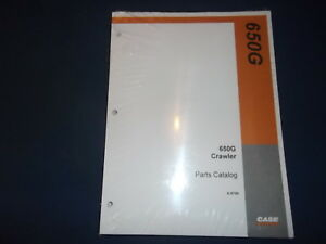 Case 650g Crawler Tractor Dozer Parts Book Manual With Revision No 1 New