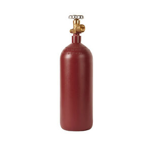 20 Cu Ft Steel Nitrogen Cylinder Tank Cga580 Valve Industrial Beverage New