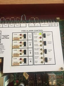 Fire lite Miniscan Ms 4024 Fire Alarm Control Panel
