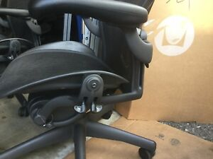 Herman Miller Aeron Chair Open Box Size B Fully Loaded Posturefit