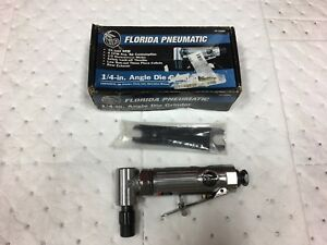 Florida Pneumatic Air Die Grinder 1 4 Collet 25000 Rpm 1 4 Npt 90 Psi Fp 759rt