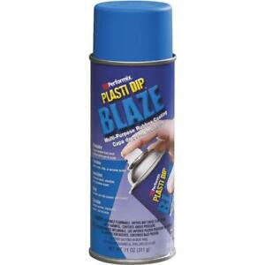 6 Pk Performix Plasti Dip 11 Oz Blaze Blue Rubber Coating Spray Paint 11219 6