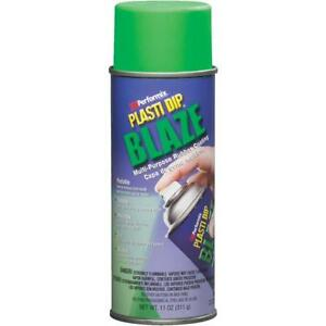 6 Pk 11 Oz Performix Plasti Dip Blaze Green Rubber Coating Spray Paint 11224 6