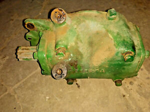 Oliver 70 Tractor Flatbelt Pulley Drive Gear Box Oliver Part Pto Belt Pulley