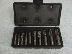 End Mill 10 Piece Bit Set