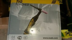 Esab Tig Torch Txh 401w Water cooled Okc50 26 Ft 8 M 0700300567