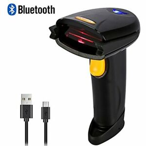 Wireless Bluetooth 4 0 Usb 3 0 Wired Barcode Scanner 1d Handheld Inventory