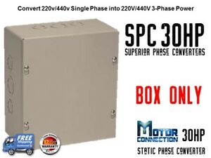 Static Phase Converter 30 Hp Create 3 Phase Power From Single Phase Supply