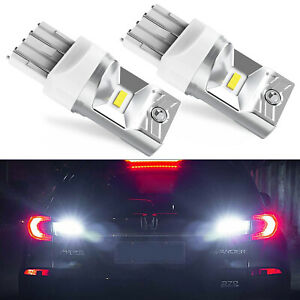 Jdm Astar 48 Smd 3157 3156 White High Power 12v Led Turn Signal Brake Light Bulb