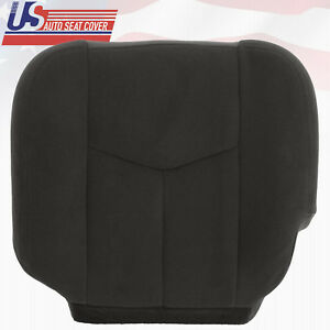 2005 2006 Gmc Sierra 2500 2500hd Driver Side Bottom Cloth Seat Cover Dark Gray