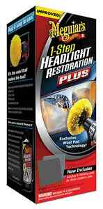 Meguiar s Headlight Restoration Kit Plastx Boat Motorcycle Helmets Taillights