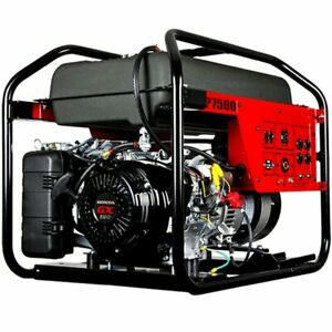 Winco Dp7500 Dyna Professional 7500 Watt Electric Start Portable Generator