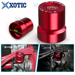 For Honda Civic Si S2000 B D H Series Engine Vtec Solenoid Value Cover Cap Red
