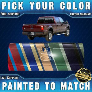 New Painted To Match Tailgate 2008 2016 Ford Super Duty W Out Integrated Step