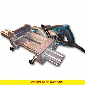 Imt Professional Wet Cutting Makita Motor Rail Track Saw For Granite 16 Ft Rail