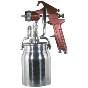 Astro Pneumatic 4008 Gun 1 8mm Siphon Feed Primer With 1 Qt Aluminum Cup