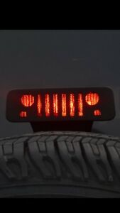 1997 2006 Jeep Wrangler Tj 3rd Brake Light Cover Decal Jeep Grill