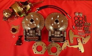 1964 1965 1966 Ford Mustang Six Cylinder 5 Lug Power Disc Brake Conversion