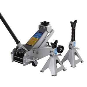 3 Ton Service Jack And A Pair Of 3 Ton Jack Stands Otc Tools Otc5300