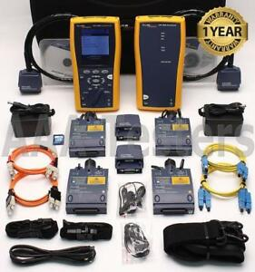 Fluke Dtx 1800 Cat6a Sm Mm Fiber Cable Analyzer Dtx sfm2 Dtx mfm2 Dtx 1800 ms