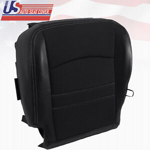 2011 Dodge Ram 1500 Sport Driver Side Bottom Cloth Vinyl Seat Cover Dark Gray