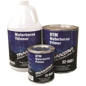Transtar Direct to metal Waterborne Grey Primer gallon tra 32 0051