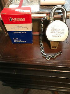 5 New American Lock 700 High Security Solid Steel Padlocks All Keyed Alike