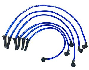 Mustang 4 0l V6 05 10 10 Mm High Performance Blue Spark Plug Wire Set 29231b