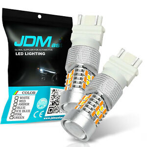 Jdm Astar 2x 3157 Led Switchback Dual Color Ax 2835 60 Smd White Amber Led Bulb