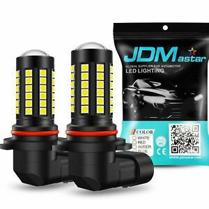 Jdm Astar 10000lm H10 9045 9145 6500k Super Bright White Led Fog Drl Light Bulbs