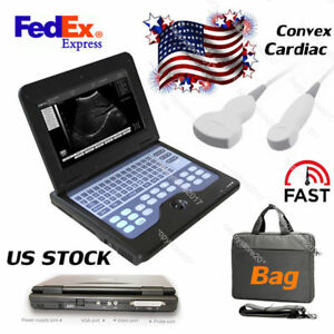 2 Probes Portable Ultrasound Scanner Laptop Machine 10 1 Cms600p2 Usb video