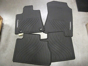 2012 2013 Tundra Double Cab Crew Max All Weather Floor Mats Genuine Toyota
