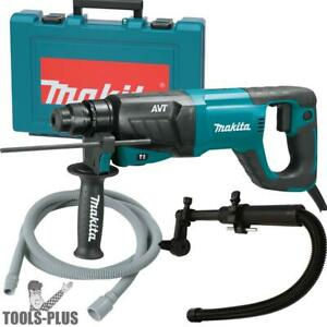 Makita Hr2641 1 Sds plus 3 mode Variable Speed Avt Rotary Hammer Kit New