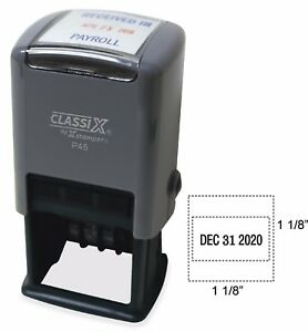 Xstamper Classix Custom stamp Self Inking new p45 Ink