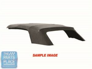 1959 60 Chevrolet Impala Convertible Top Without Window Black