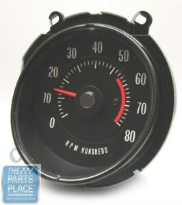1969 72 Pontiac Gto Lemans In Dash Tach 5500 Rpm Oem Factory