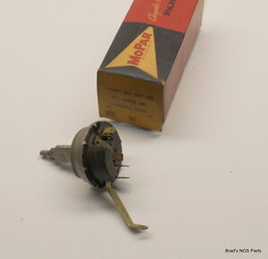 Nos Mopar 1960 61 Dodge Desoto Wiper Switch With Variable Speed Wipers 1971705