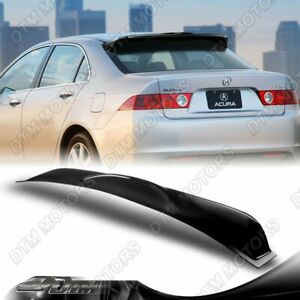 For 2004 2005 2006 2007 2008 Acura Tsx Rear Roof Window Visor Spoiler Wing Abs