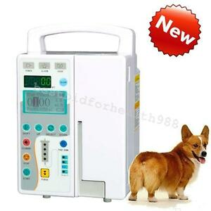 Veterinary Syringe Injection Pump Infusion Pump preset purge alarm Function