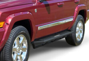Off Road Side Steps Armor Fit 05 10 Jeep Grand Cherokee