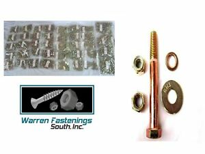 3365pc Grade 8 Coarse Thread Bolt Washer Nut Stop Nut Assortment With Bin
