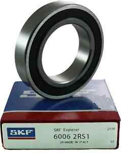 6006 2rs Skf Brand Rubber Seals Bearing 6006 rs1 Or 2rs Usa Ship