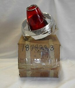 Nos Mopar 1960 Imperial Tail Light Lamp Assembly New In The Box Pn 1878283