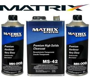 Matrix Ms 42 High Solids Urethane Clearcoat W Mh008 Similar Dcu 2042 Mtxms 42