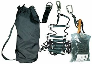 Msa 10051920 Rescue Kit Synth Ladder With Rope Bag 25 Length