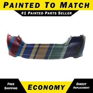 New Painted To Match Rear Bumper Replacement For 2016 2018 Nissan Altima W Park