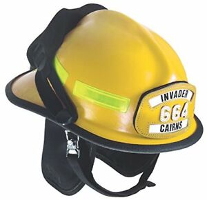 Msa Safety 664xdy Cairns Invader 664 Composite Fire Helmet Cairns Ess Goggles