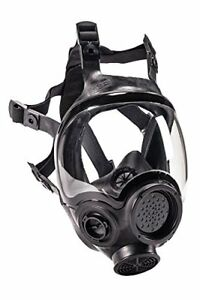 Msa Safety 805408 Hycar Rubber Advantage 1000 Full facepiece Respirator Medium