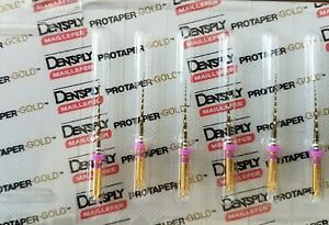 Protaper Gold Rotary Files 21 Mm S1 Dentsply Endodontics Endo