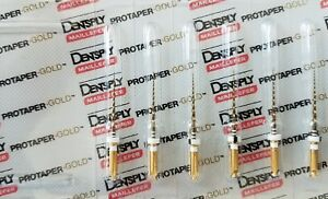 Protaper Gold Rotary Files 21 Mm S2 Dentsply Endodontics Endo